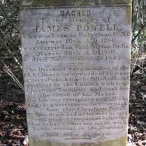 James Powell, Travelers Rest Cemetery, Montezuma, GA (from Findagrave.com)