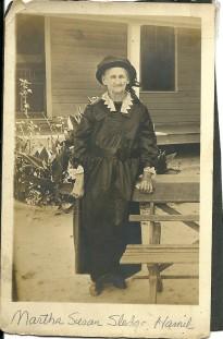 Martha Sledge Hamill (from Ancestry.com)